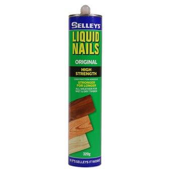 Selleys Liquid Nails Construction Adhesive 320g