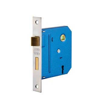 Zenith Lock Mortice Chrome Plated - 1 Pack
