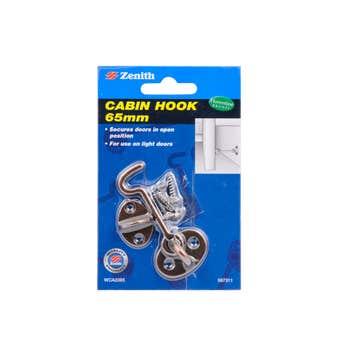 Zenith Cabin Hook Florentine Bronze 65mm - 1 Pack