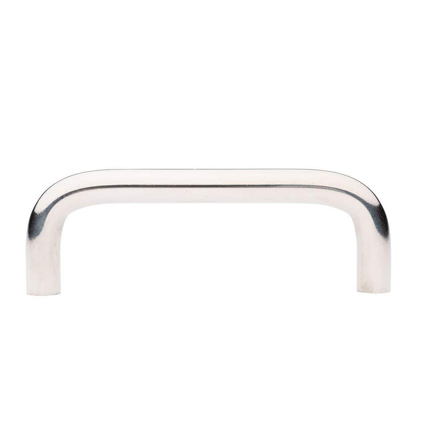 Prestige D Handle Chrome Plated 76mm - 2 Pack