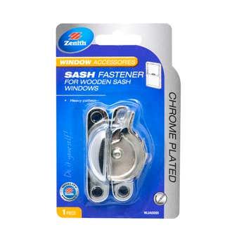 Zenith Sash Fastener Chrome - 1 Pack