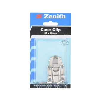 Zenith Clip Case Nickel Plated 65 x 40mm