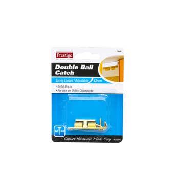 Prestige Double Ball Catch Brass 43mm