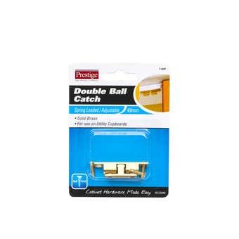 Prestige Double Ball Catch Brass 49mm