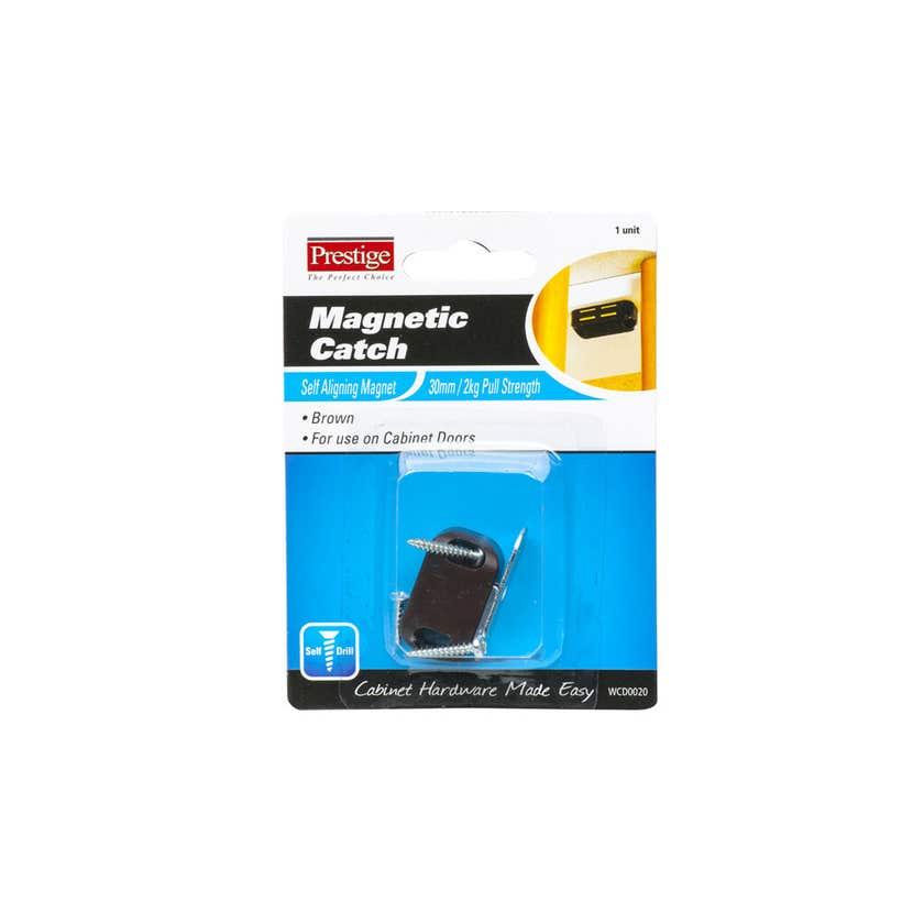 Prestige Magnetic Catch Light Duty Brown 30mm - 1 Pack