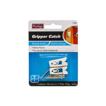 Prestige Gripper Catch White - 2 Pack