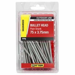 Otter Nail Bullet head Galvanised 75x3.75mm (500G)
