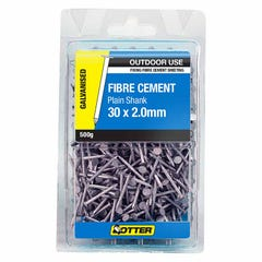 Otter Nail Fibre Cement Sheet Galvanised 30x2.00mm (500G)