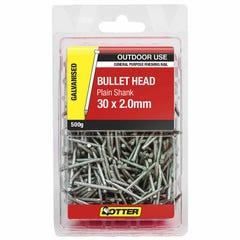 Otter Nail Bullet head Galvanised 30x2.00mm (500G)