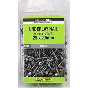 Otter Nail Underlay Annular 25x2.50mm (500G)