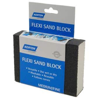 Norton Flexi Sand Block Medium/Fine