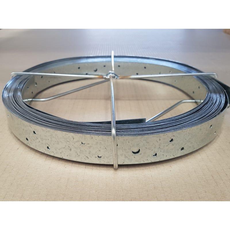 Wilmaplex Hoop Iron 30mm x .8mm x 15m Punched