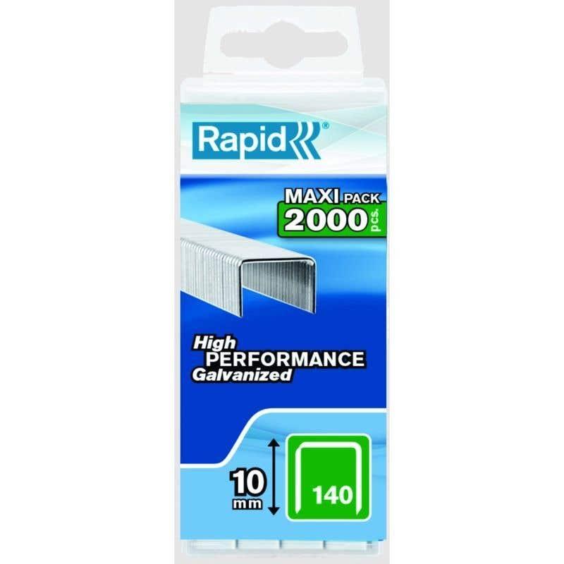 Rapid Heavy Duty Staple No.140 10mm - Box of 2000