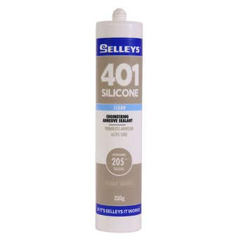 Selleys 401 Clear Silicone 310g
