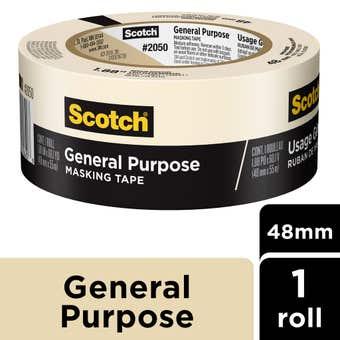 Scotch General Purpose Masking Tape 48mm x 55m