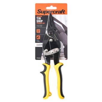 Supercraft Aviation Tin Snips Straight Cut 250mm