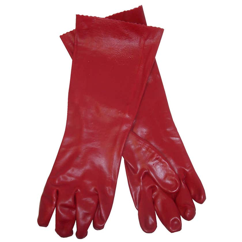 Protector PVC Chemical Gloves 45cm