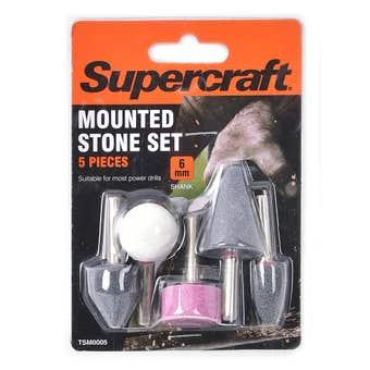 Supercraft Mounted Stone Set 5 Pieces 6mm