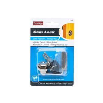 Prestige Cam Lock Nickel Plated 16mm