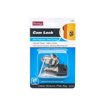 Prestige Cam Lock Nickel Plated 19mm