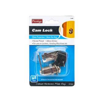 Prestige Cam Lock Nickel Plated 30mm