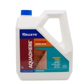 Selleys Aquadhere Exterior Adhesive PVA 4L