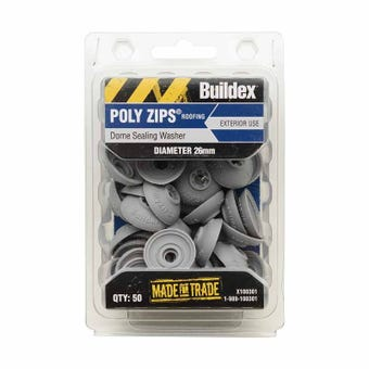 Buildex® Dome Sealing Washer 26mm Diameter - 50 Pack