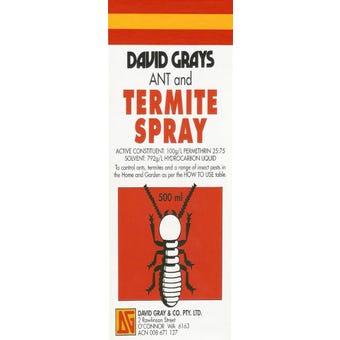 David Grays Ant & Termite Spray 500ml