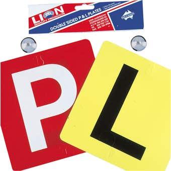 Lion Reversible L & P Platee - 2 Pack