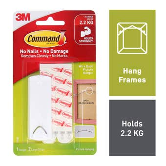 Command Wire-Backed Picture Hanging Hooks