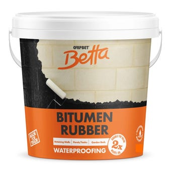 Gripset Betta Bitumen Rubber Waterproofing Membrane  1L
