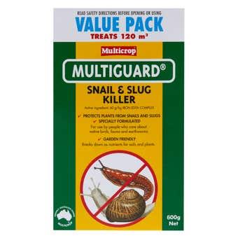Multicrop Multiguard Snail & Slug Killer 600g