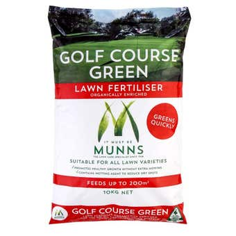 Munns Golf Course Lawn Fertiliser 10kg