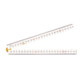 Crescent Lufkin Folding Ruler 1m