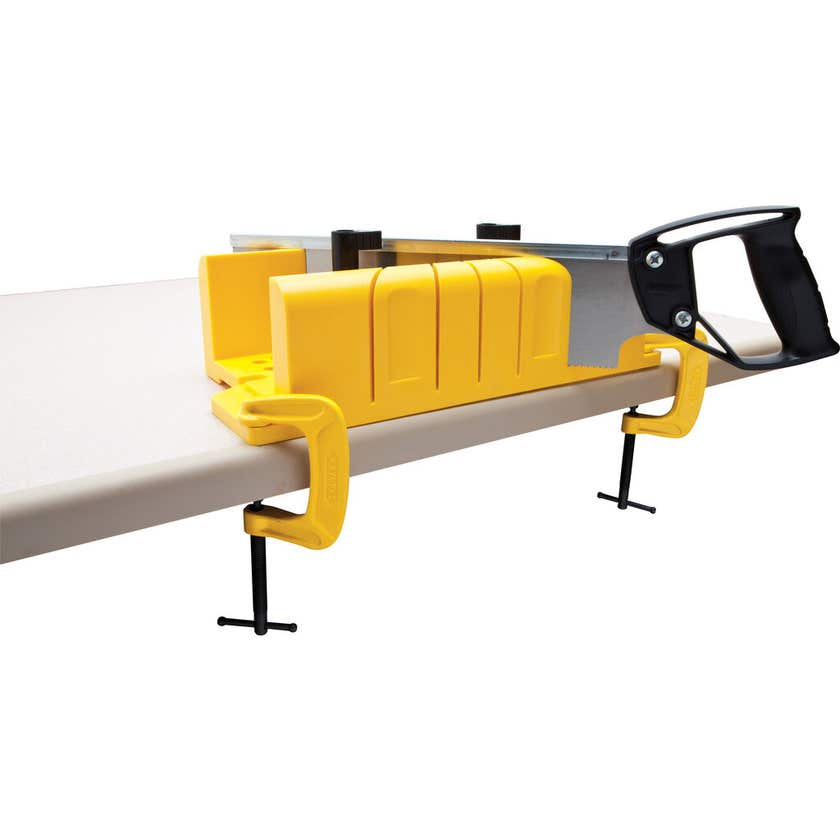 Stanley Clamping Mitre Box with Saw