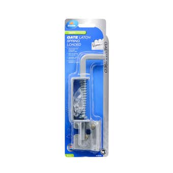 Zenith Spring Gate Latch Galvanised - 1 Pack
