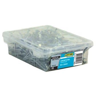 Otter Concrete Nail Zinc Plated 65 x 3.6mm 2kg