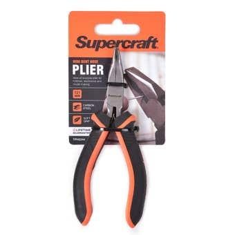 Supercraft Plier Mini Bent Nose 121mm