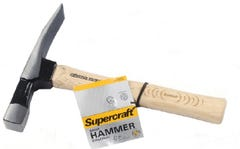 Supercraft 24oz Timber Handle Brick Hammer