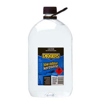 Diggers Low Odour Kerosene 4L