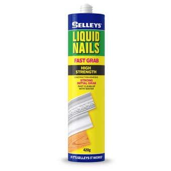Selleys Liquid Nails Fast Grab 420g