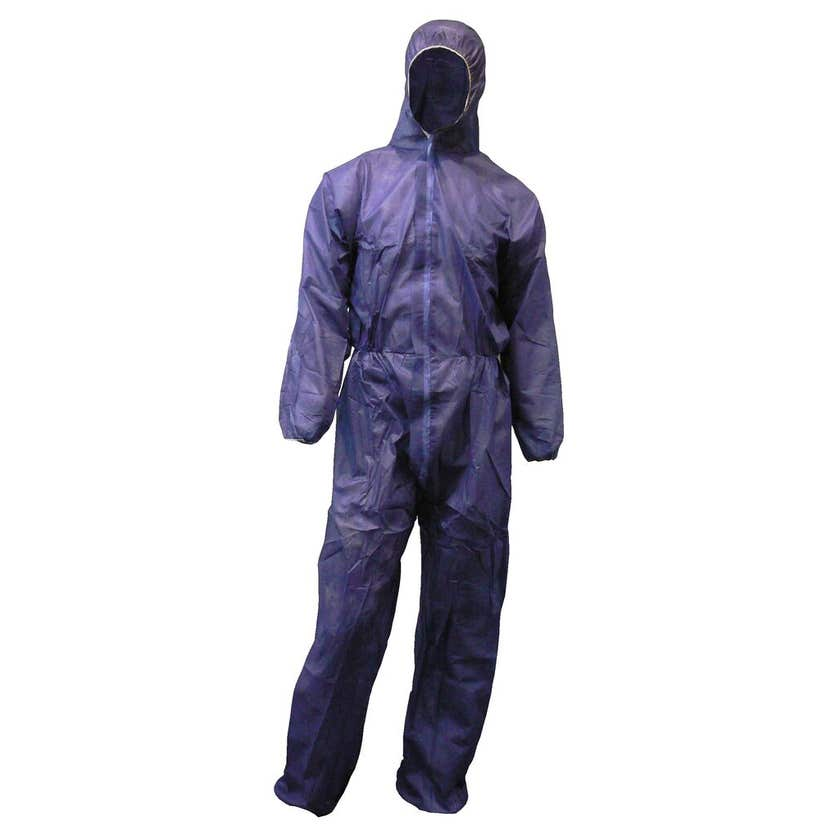 Protector Disposable Overall Blue 2XL