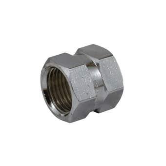 Brasshards Socket Hex Chrome 15mm