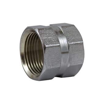 Brasshards Socket Hex Chrome 20mm