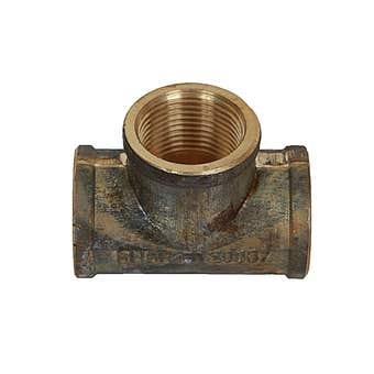 Brasshards Tee Brass 15mm
