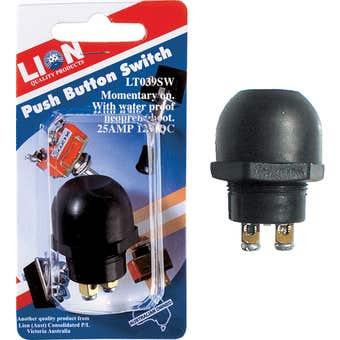 Lion Push Button Switch Black