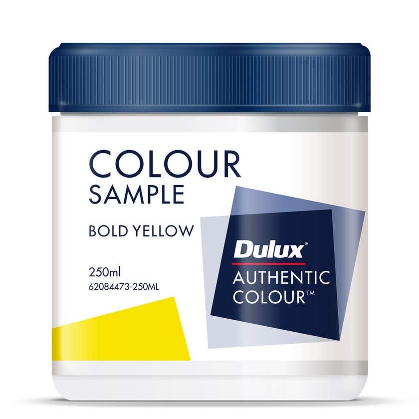 Dulux Sample Pot Bold Yellow 250ml