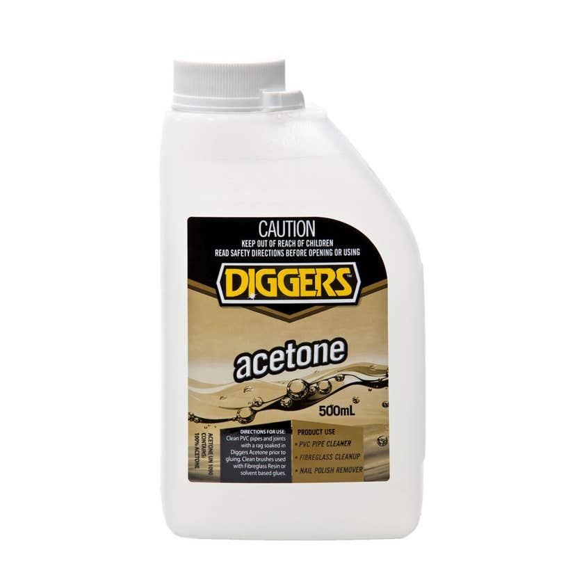 Diggers Acetone 500ml