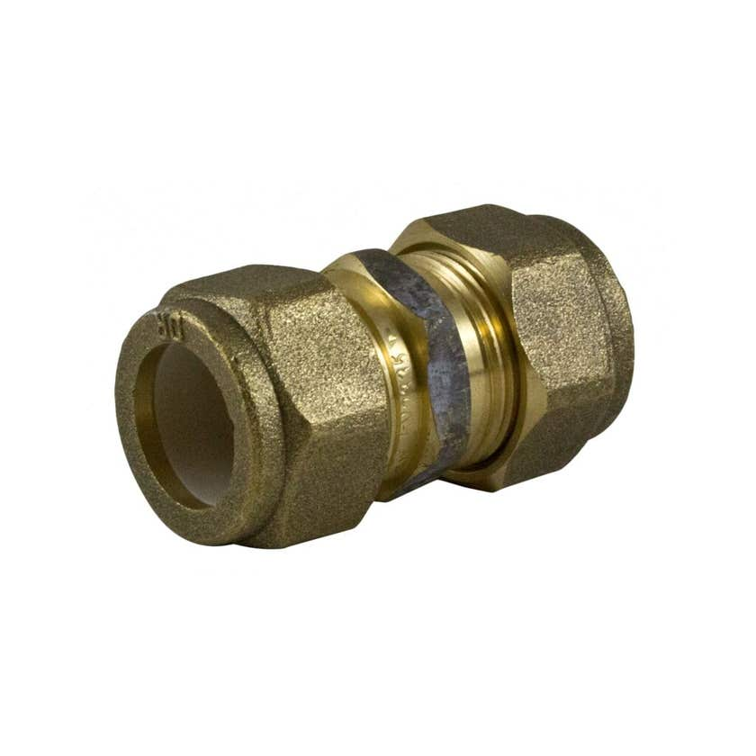 Brasshards Union Nylon Olive Compression Brass 20mm x 20mm