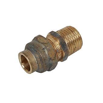 Union Flare Comp Brass 15MI x 15C